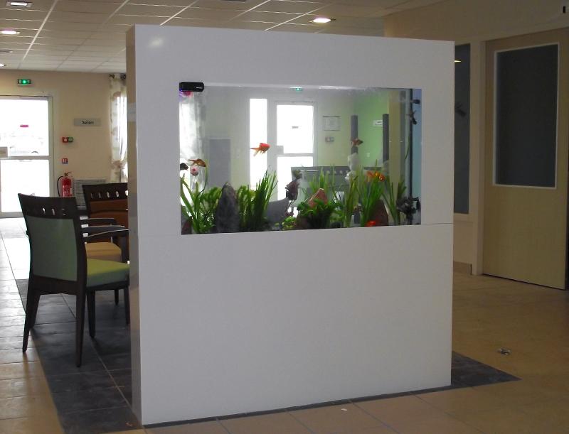 Dreamon aquariums suspendus gamme insert for Mur de separation interieur